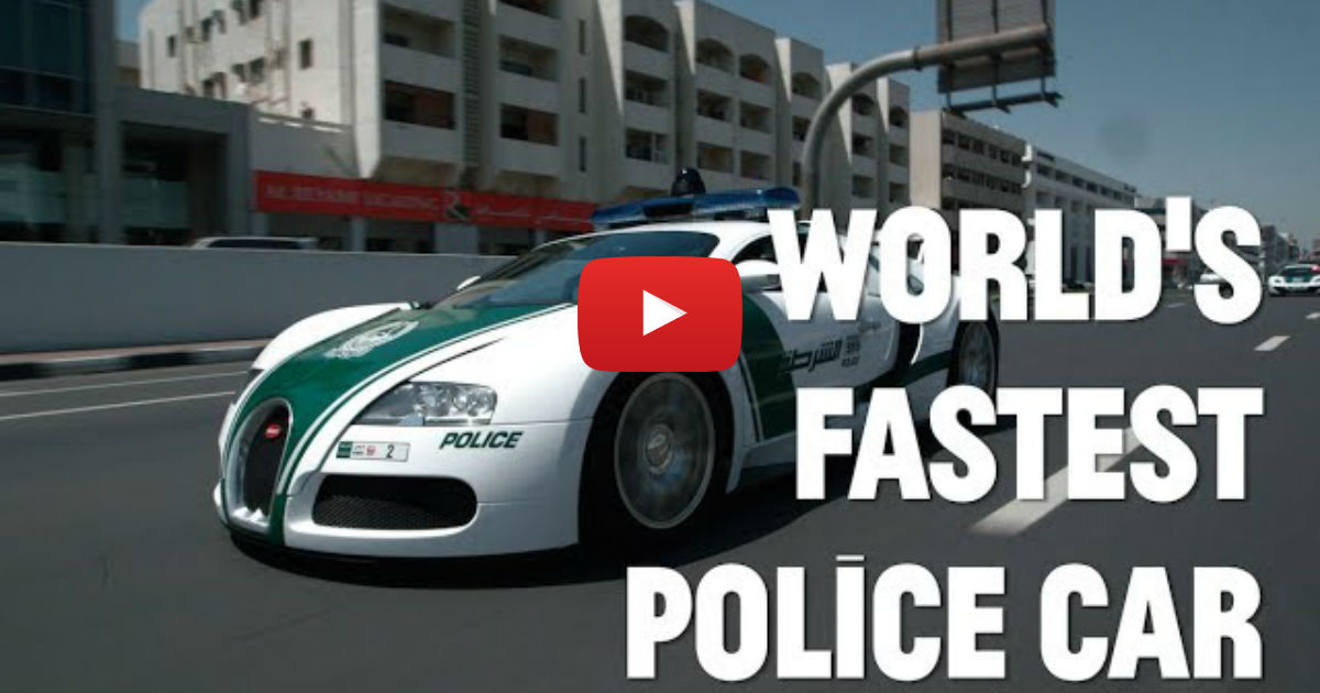 The World's Fastest Police Cars! | Vinemoments