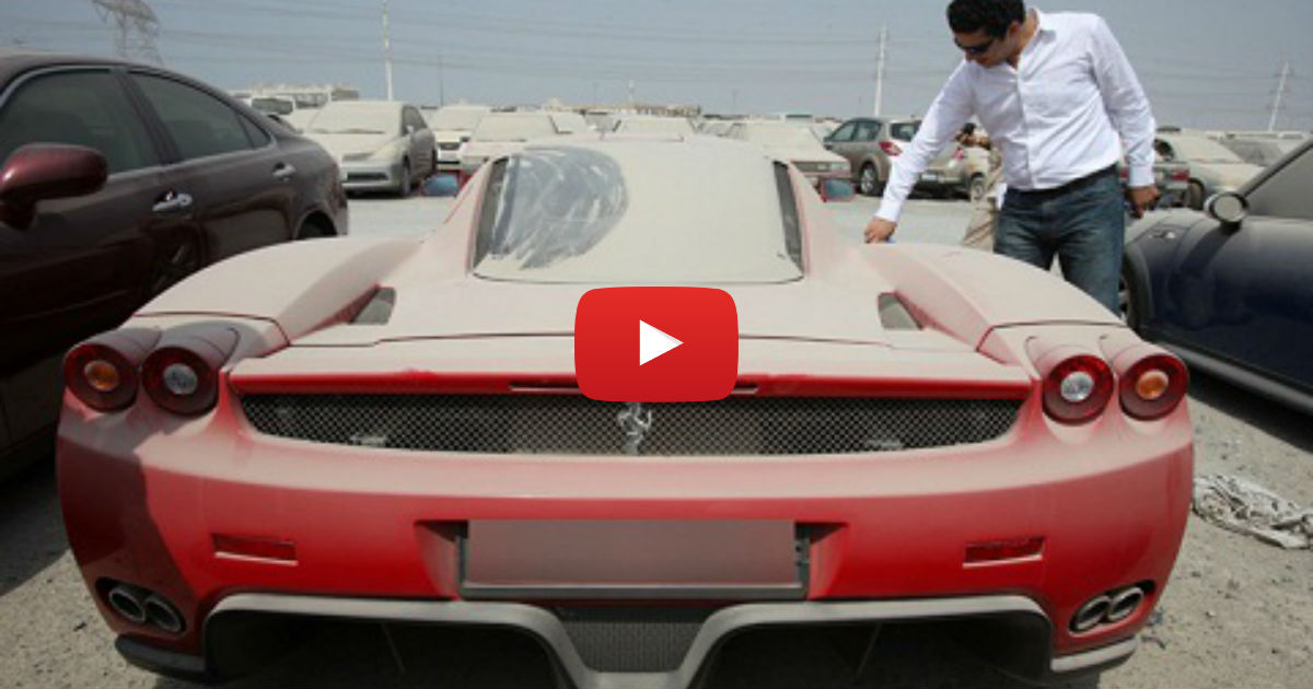 Auto Garage For Sale Dubai: Dubai Abandoned Cars Ferrari, Lamborghini, Mustang... How