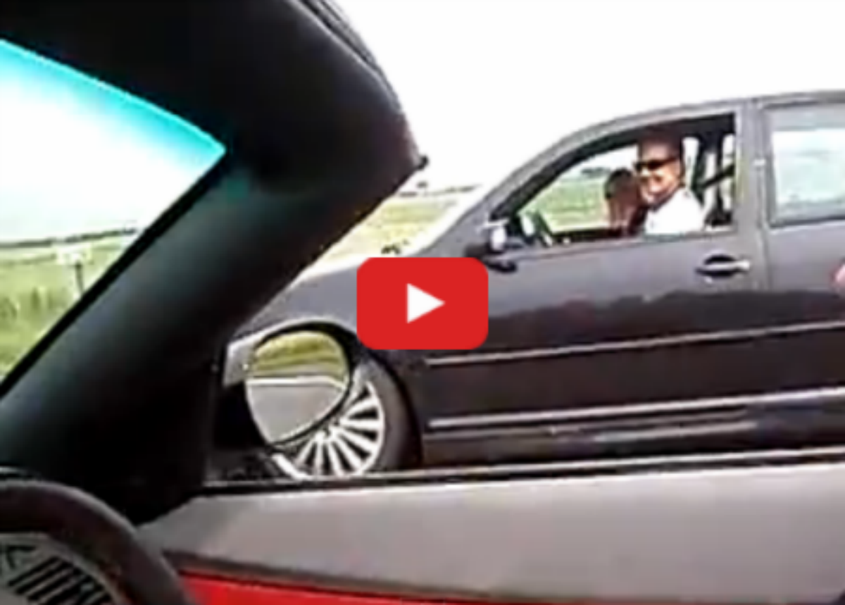 Vw Golf Mk4 R32 Hgp Twinturbo Vs Bmw Z4 3 0 Vinemoments