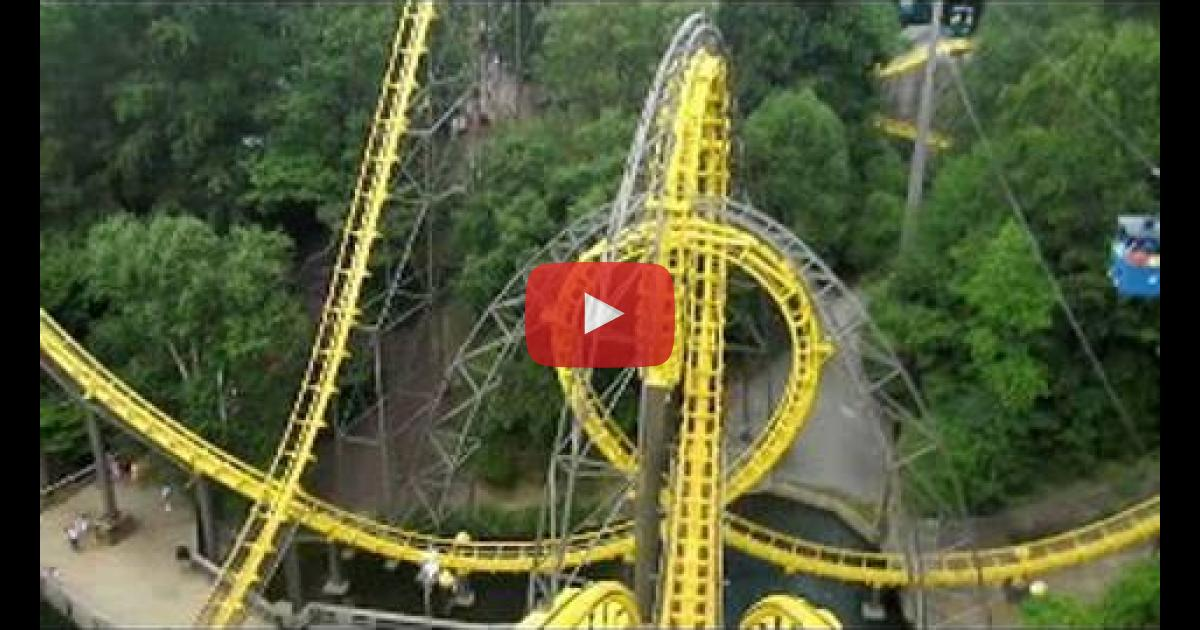 Loch Ness Monster Front Seat On Ride Widescreen Pov Busch Gardens Williamsburg Vinemoments