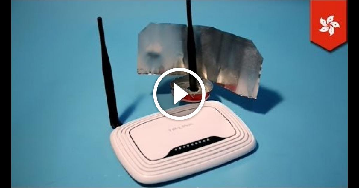 Как усилить wifi антенну для роутера своими руками