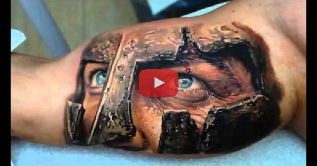 Best Tattoo In The World: Best 3D Tattoos In The World 2014 HD!Amazing Tattoo Design