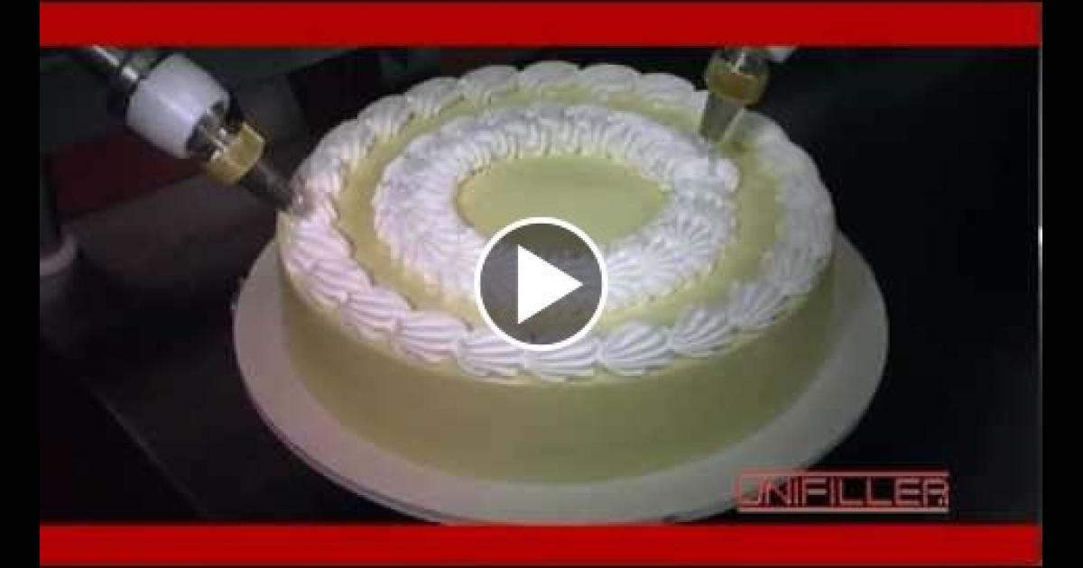 Cake Decorating Things Name : Amazing Cake Decorating Machine! Vinemoments