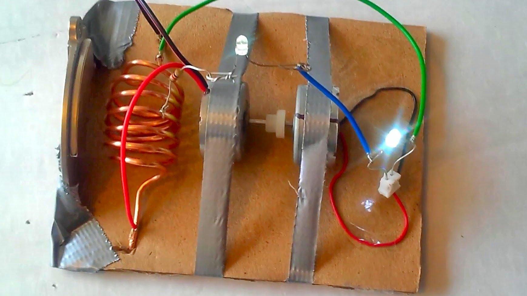 Как в домашних условиях добыть электричество из